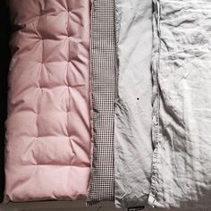 Image of reversible quilt cover