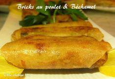 Boureks au poulet à la Béchamel – Okla chahiya Algerian Recipes, Algerian Food, Bechamel Sauce, Arabic Food, Crepes, Bagel, Baked Potato, Tapas, Chicken Recipes