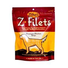 Zuke's Z Filets Chicken 3.25 Oz