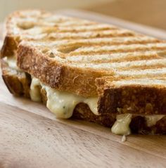 Grill Your Grilled Cheese-zucchini (with gruyere and basil), onions (with emmenthaler and fig jam), portabellas (with camembert), steak (with cheddar), chicken (with blue cheese), or even fruit