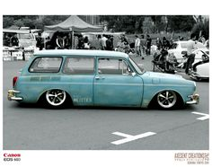 Slammed Squarebacks<3 Volkswagen Type 3, Vw T, Vw Vintage, Vintage Trucks, Vw Wagon, Vw Variant, Vw Rat Rod, Beach Cars, Vw Classic