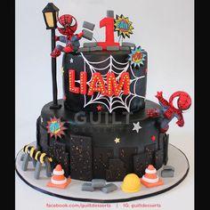 Spiderman! - Cake by Guilt Desserts