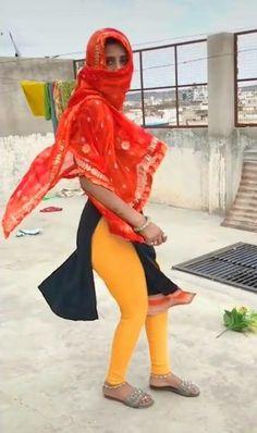 Girls In Leggings, Leggings Are Not Pants, Tight Leggings, Beautiful Dresses For Women, Beautiful Outfits, Desi Girl Image, Most Beautiful Bollywood Actress, Half Saree Designs, Neon Dresses