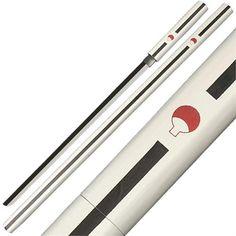 Sasuke Kusanagi Grass Cutter Naruto Anime Wooden Sword by General Edge. Want to get this for my room. Ninja Weapons, Anime Weapons, Fantasy Weapons, Armas Ninja, Katana Swords, Knives And Swords, Sarada Uchiha, Sasuke, Shuriken