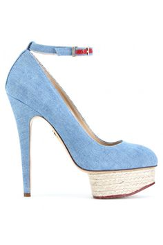 Seriously obsessed with Charlotte Olympia. Wish she would do a colab with Aldo so I could afford multiples. $845