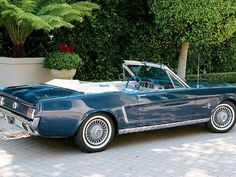 Currently I here, Lee Iacocca has it in safe keeping.  ;-)  64 1/2 MUSTANG caspian blue