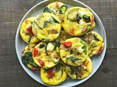 muffiny z jajkami i warzywami