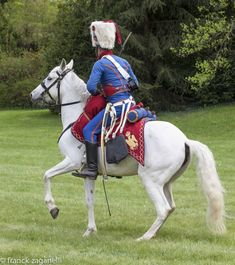 Trumpeter, Chasseurs a cheval