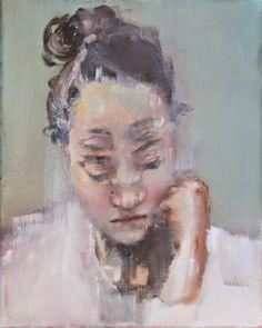 Pauline Zenk #art #painting #portrait