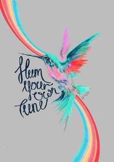 'Hum Your Own Tune' Hummingbird Print – DiddiandMo Protective Packaging, Paper Dimensions, New Print, Hummingbird, Stuff To Do, How To Draw Hands, Just For You, Notes, Neon Signs