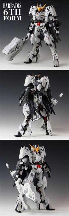 情境作品 1/100 Gundam Barbat...