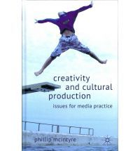 Leestip: Creativity and cultural production http://catalogus.boekman.nl/extern/dispatcher.aspx?action=detail=ChoiceFullCatalogue=41280  Phillip McIntyre presents the latest scholarly research into creativity and creative practice. The book provides insights to media practitioners and policy professionals, looking at television, radio, film, journalism, photography, popular music and new media in relation to psychology, sociology and cultural studies.