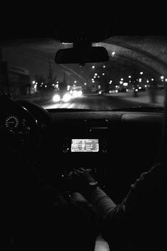 Voiture la nuit