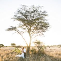 This gorgeous game lodge wedding in the African bushveld is pure Out of Africa romance. (Credit: Fiona Clair)