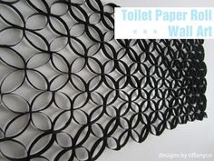 Toilet Paper Roll Wall Art | Designs by TiffanyCo