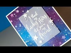 Inked Night Sky + WPlus9 Product Release Close-Up by Jennifer McGuire. I have to try this!