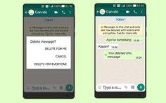 Artikel panduan tarik pesan di Whatsapp atau WA jika kamu salah kirim. Kamu tinggal updated ke versi terbaru dan hapus pesan WA dengan cara berikut