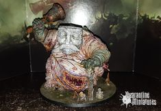 Nurgle Great Unclean One Quarantine Miniatures Creepy, Miniatures, Painting, Art, Art Background, Painting Art, Kunst, Mini Things, Paintings