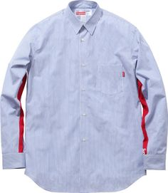 Comme des Garcons X Supreme button down shirt