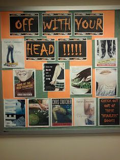 off with your head book display