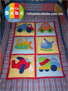 like the solid look Patchwork Baby, Patchwork Quilting, Applique Quilts, Baby Boy Quilt Patterns, Baby Boy Quilts, Quilting Projects, Quilting Designs, Sewing Projects, Scrapbook Bebe