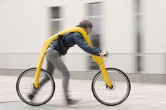 FLIZ:  part bike, part scooter, part walking-enhancer. Invented by Tom Hambrock and Juri Spetter