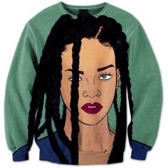 Beautiful Rihanna Crewneck ($60) ❤ liked on Polyvore featuring accessories, tech accessories and iphone cover case
