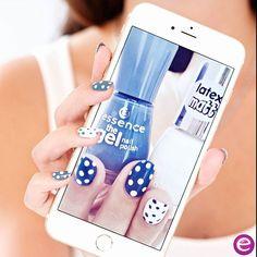 "we can't get enough of these polka dot nails with our efffect nail polish ""37 the white bunny""and gel nail polish ""51 miss captain""  #essence #essencecosmetics #essencelove #loveatfirsttry #nails #nailpolish #thegelnailpolish #longlastinglove #naildesign #nailart #dottednails #blueandwhite #nailart #nails2inspire #nailartclub #nailsoftheday #notd #nail #nailstagram #love #instalove #thewhitebunny #misscaptain #nailsonfleek #nailartoohlala by essence_cosmetics"