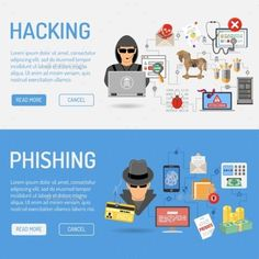 Buy Cyber Crime Banners by -TAlex- on GraphicRiver. Cyber Crime Banners for Flyer, Poster, Web Site, Printing Advertising Like Hacker and Social Engineering. Web Security, Security Technology, Website Security, Security Tips, Computer Technology, Computer Programming, Computer Science, Vector Technology, Programming Languages