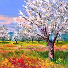 Jan Marc Janiaczyk Landscape Drawings, Watercolor Landscape, Landscape Art, Landscape Paintings, Abstract Tree Painting, Abstract Portrait, Modern Impressionism, Victorian Art, Art Background