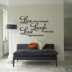live laugh love in wooden letters, perfect fire my chaz lounge, love this idea ♥♥