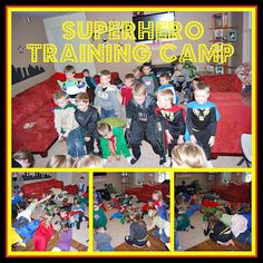 Superhero Training Camp. What have been some of your favorite birthday themes to plan?
