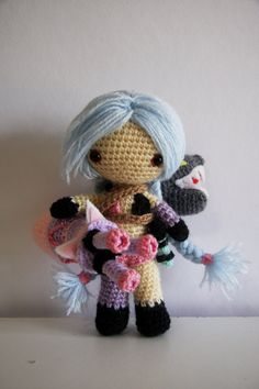 League of Legends Classic Jinx Amigurumi
