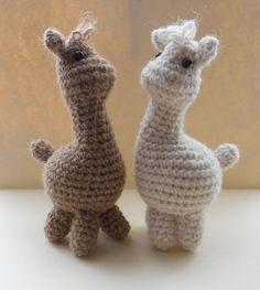 Amigurumi Llamas #crochet #amigurumi #alpacas
