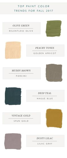 our top paint color trends for fall 2017   coco kelley
