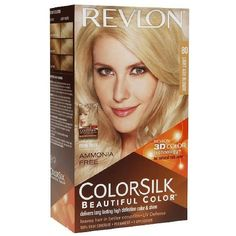 Revlon Colorsilk Ammonia-free Permanent Haircolor, Light Ash Blonde -80 - 1 Ea (Pack of 6) ** You can get more details by clicking on the image.