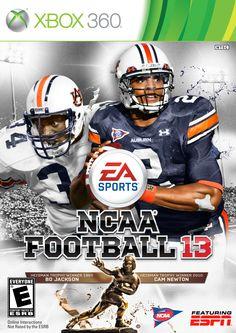 Bo Jackson and Cam Newton - Auburn Tigers
