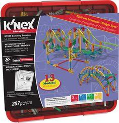 Introduction to Structures: Bridges STEM Building Set, by K'Nex