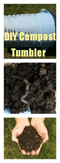 Compost Tumbler for Cheap | 13 Best DIY Compost Tumblers | Make Your Own Organic Garden Fertilizer With These Easy And Inexpensive Compost Tumbler by Pioneer Settler at http://pioneersettler.com/compost-tumblers/
