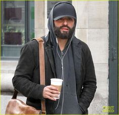 The 38-year-old actor was spotted on set of his new film Life Itself on Saturday (March 11) in the Chelsea neighborhood in New York City.