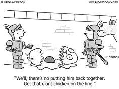 Humpty Dumpty Cartoon.