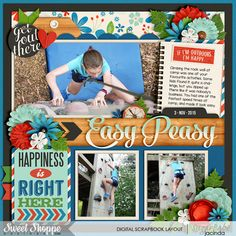 Cindy's Layered Templates: Universal Album 5 by Cindy Schneider Great Outdoors: Escape by Kristin Cronin-Barrow Cindy's Layered Cards: EVERYDAY 5 by Cindy Schneider