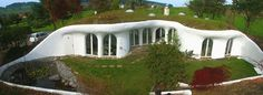 Photo of the Week - Living Hobbit-Style in Swiss Earth Houses