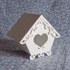 Eu Amo Artesanato: Casinhas de passarinho de papelão