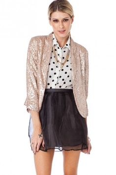 Lustra Sequin Jacket