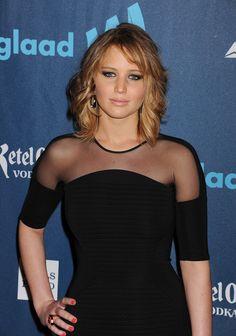 Jennifer Lawrence's new haircut!