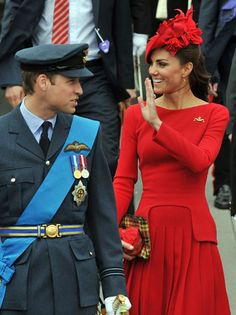 Great red dress. I am a fan of Kate Middleton and her stylist is brillant