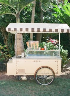 Cute ice-cream stall - perfect for an outdoor event