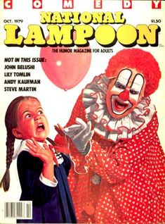 A cover gallery for National Lampoon National Lampoon Movies, National Lampoons, National Lampoon Magazine, Andy Kaufman, American Humor, Steve Martin, Send In The Clowns, European Vacation, Christmas Vacation