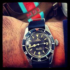 watchesinrome:  #rolex #submariner #bigcrown #5510 #aussie #australian #military #mds #watchesinrome